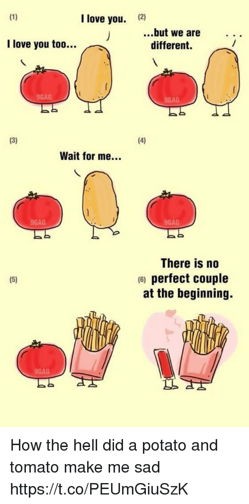 I Love You 12 But We Are Different I Love You Too 9gag 9gag Wait For