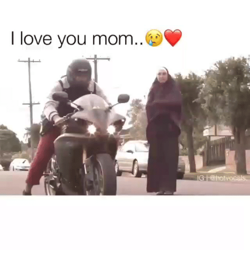 Love, I Love You, and Indonesian (Language): I love you mom..  IG