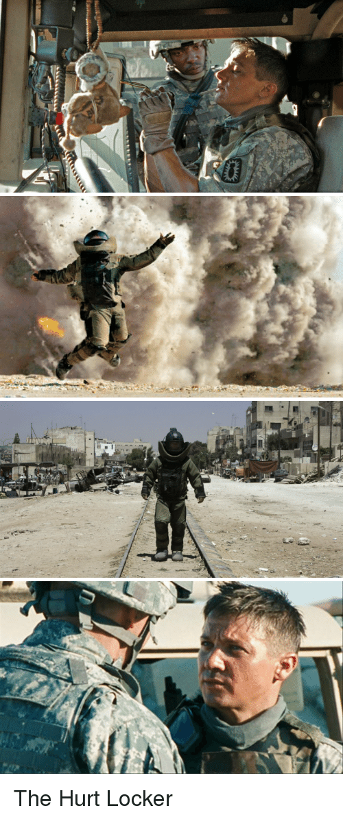 hurt locker and ptsd Kathryn bigelow's amazing combat pic the hurt locker arrives in cinemas this week.