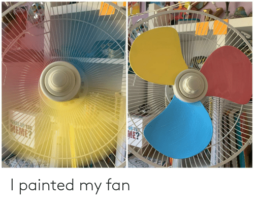 fan: I painted my fan
