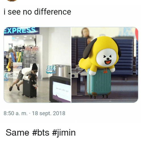 Bts, Sept, and A&m: i see no difference  XPRESS  5e  8:50 a. m. 18 sept. 2018 Same #bts #jimin