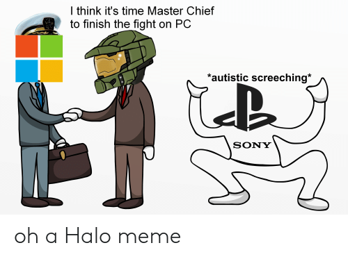 I Think It S Time Master Chief To Finish The Fight On Pc