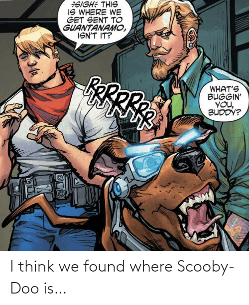 We Found: I think we found where Scooby-Doo is…