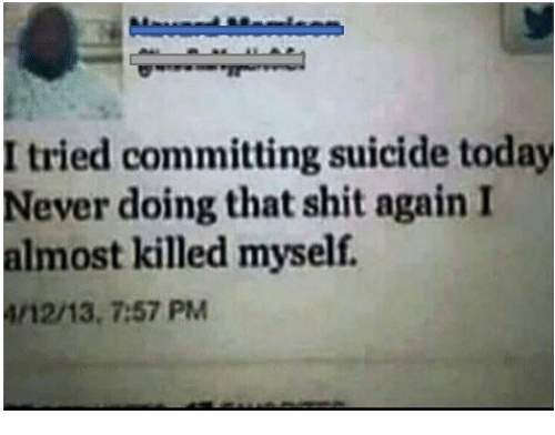 Committing Suicide