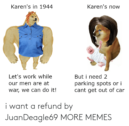 I Want: i want a refund by JuanDeagle69 MORE MEMES