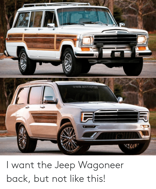 Jeep: I want the Jeep Wagoneer back, but not like this!