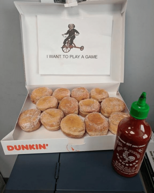 Play A Game: I WANT TO PLAY A GAME  DUNKIN
