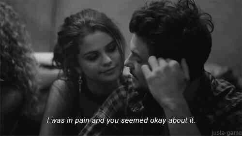 In Pain: I was in pain and you seemed okay about it  justa-game
