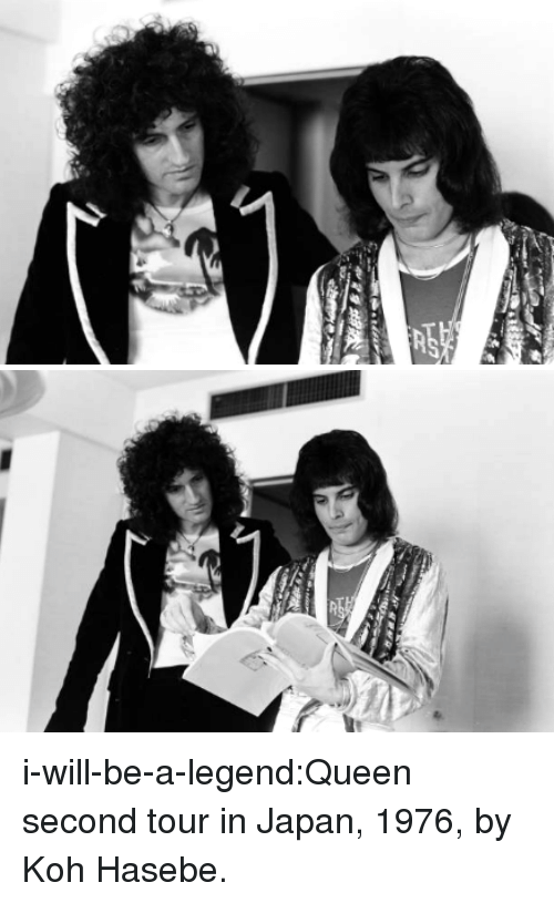 koh: i-will-be-a-legend:Queen second tour in Japan, 1976, by Koh Hasebe.