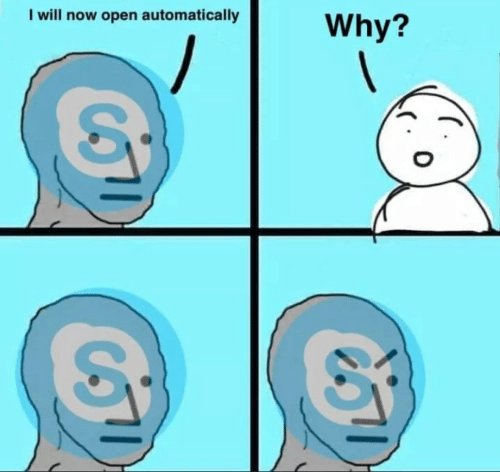Open, Why, and Will: I will now open automatically  Why?