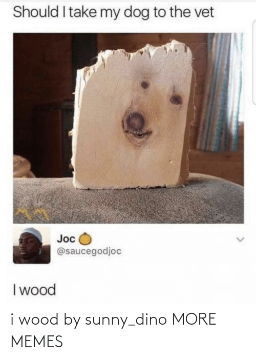 dino: i wood by sunny_dino MORE MEMES