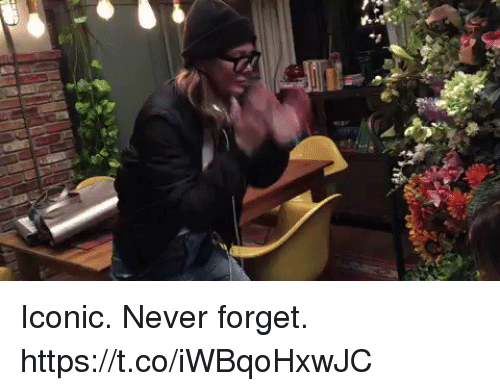 Memes, Iconic, and Never: Iconic. Never forget. https://t.co/iWBqoHxwJC