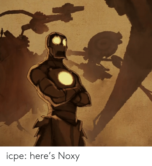 Tumblr, Blog, and Com: icpe:  here's Noxy