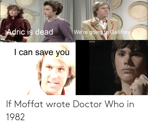 Doctor Who: If Moffat wrote Doctor Who in 1982
