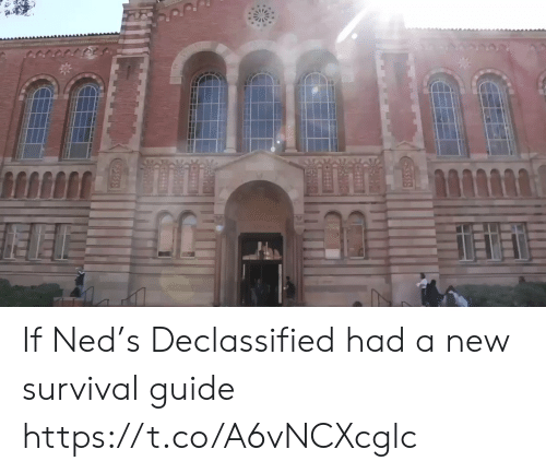 ned: If Ned's Declassified had a new survival guide https://t.co/A6vNCXcglc