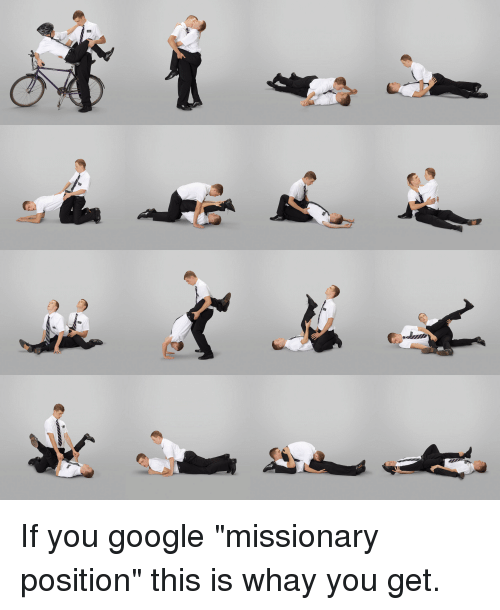 Apologise, but, Classic missionary position