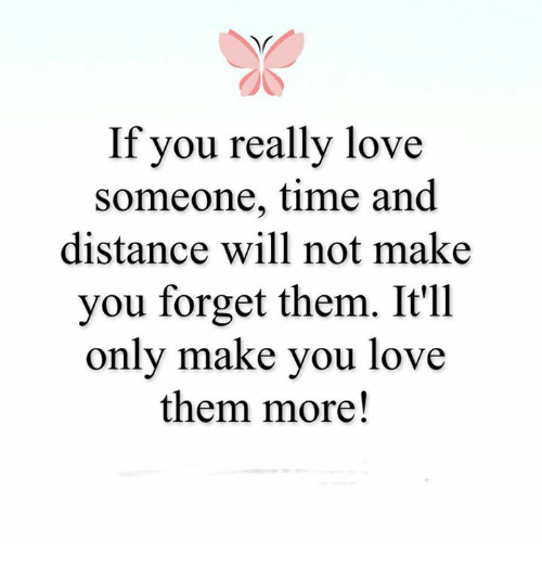 4aba7e81 Love, Memes, and Time: If you really love someone, time and distance
