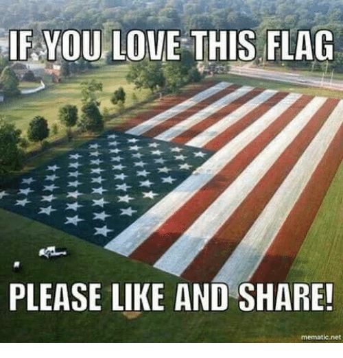 Like And Share: IF YOULOVE THIS FLAG  PLEASE LIKE AND SHARE!  mematic net