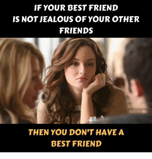 how to know your friend is jealous