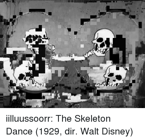 Walt Disney: iilluussoorr:  The Skeleton Dance (1929, dir. Walt Disney)
