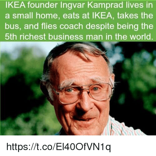 case analysis ingvar kamprad and ikea essay Ingvar founded ikea in 1943 and the name stands for his initials and address - ingvar kamprad, elmtaryd, agunnaryd kamprad is very well-known for his cheapness  he drives a 1993 volvo 240, flies only economic class and encourages ikea employees always to write on both sides of a piece of.