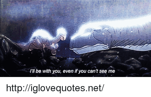 Http, Net, and You: I'll be with you, even if you can't see me http://iglovequotes.net/