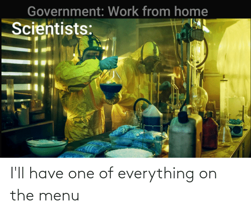 On The Menu: I'll have one of everything on the menu