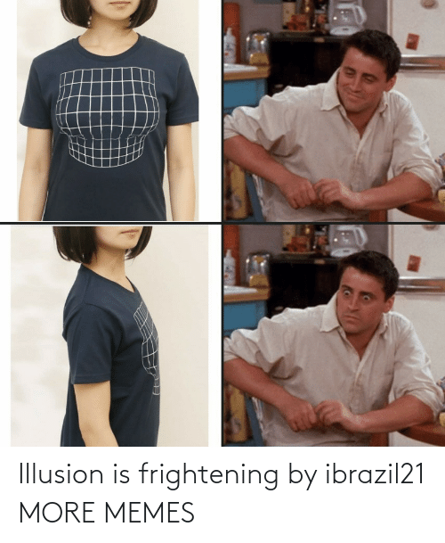 Frightening: Illusion is frightening by ibrazil21 MORE MEMES