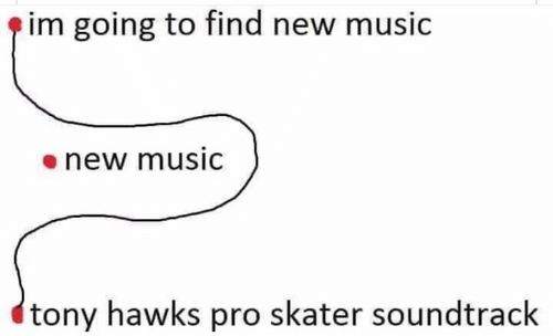Hawks: im going to find new music  enew musiC  tony hawks pro skater soundtrack