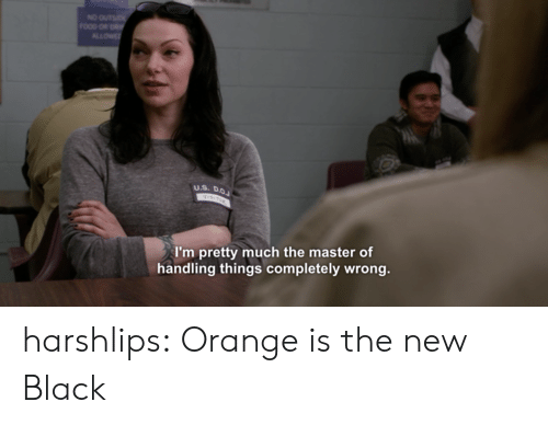Tumblr, Black, and Blog: I'm pretty much the master of  handling things completely wrong. harshlips:  Orange is the new Black