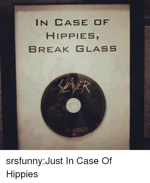 hippies: IN CASE OF  HIPPIES,  BREAK GLASS srsfunny:Just In Case Of Hippies