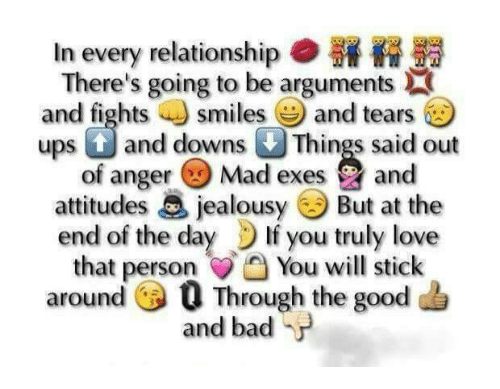 relationship going bad