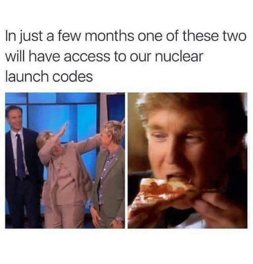 nuclear-launch-codes: In just a few months one of these two  will have access to our nuclear  launch codes