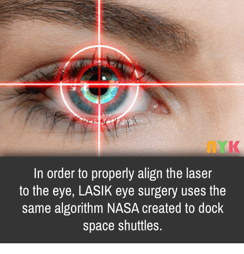 In Order to Properly Align the Laser to the Eye LASIK Eye Surgery