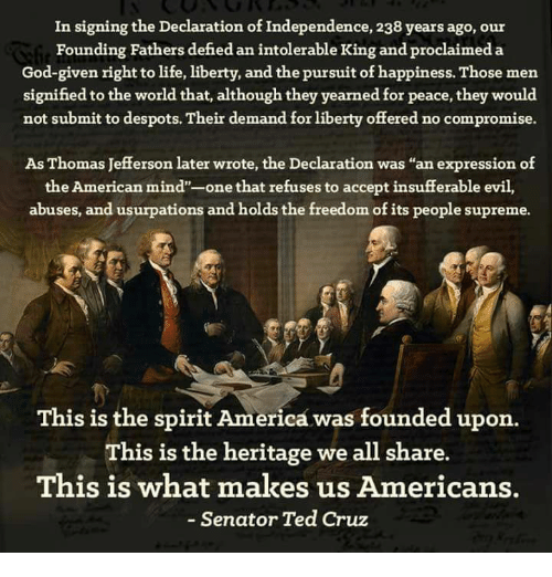 the success of the declaration of indepedence The declaration of independence pro or con our country was founded on the ideals of fairness, liberty and human equality the people of the united states have fought to reach these ideals throughout american history.