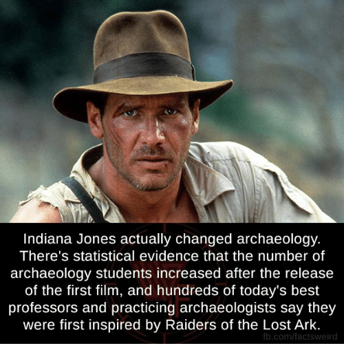indiana jones actually changed archaeology theres statistical evidence that the 14427622 ✅ 25 best memes about professor professor memes