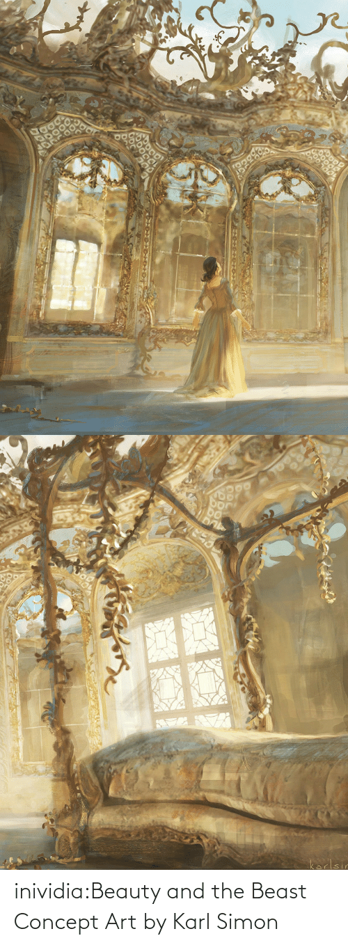 Karl: inividia:Beauty and the Beast Concept Art by Karl Simon