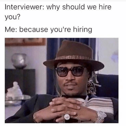 essay about why should we hire you Be prepared to explain why an employer should pick you for the job here are six ways to impress an interviewer.