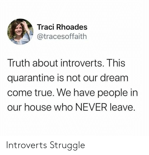 Struggle: Introverts Struggle
