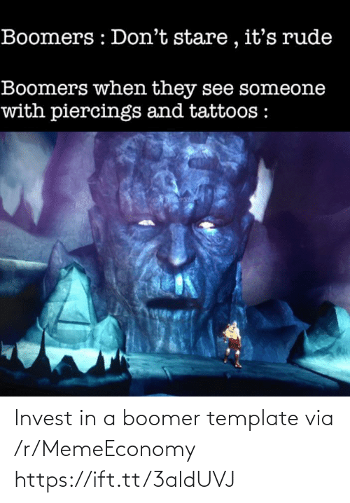 Https Ift: Invest in a boomer template via /r/MemeEconomy https://ift.tt/3aldUVJ