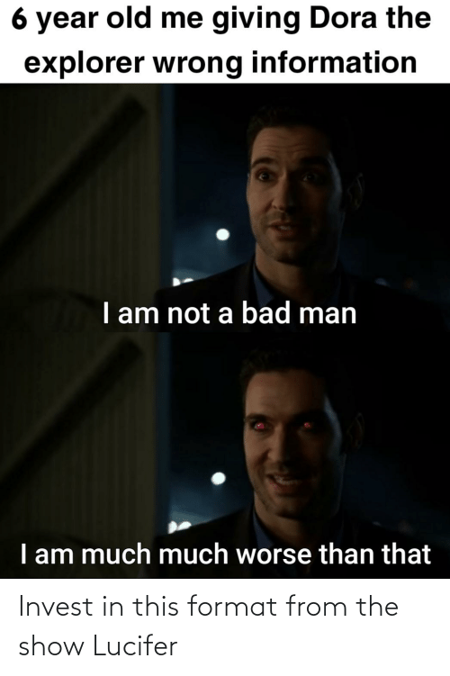 Lucifer: Invest in this format from the show Lucifer