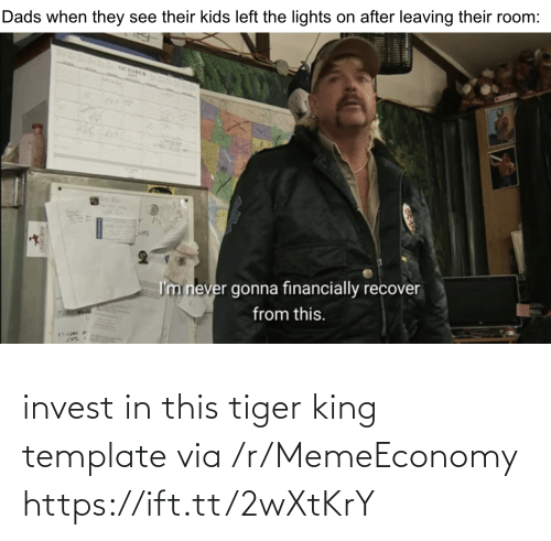Https Ift: invest in this tiger king template via /r/MemeEconomy https://ift.tt/2wXtKrY
