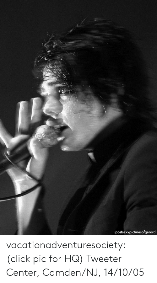Click, Tumblr, and Blog: ipostsexypicturesofgerard vacationadventuresociety: (click pic for HQ) Tweeter Center, Camden/NJ, 14/10/05