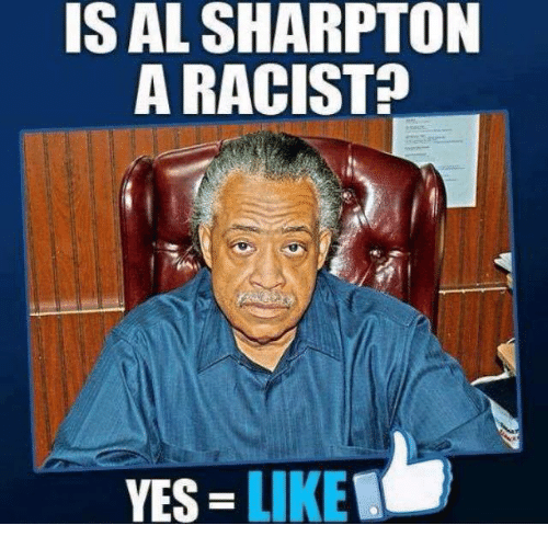 Al Sharpton: IS AL SHARPTON  A RACIST  YES LIKE