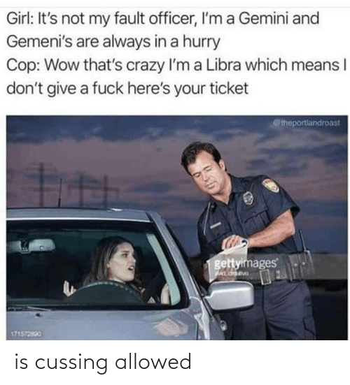 cussing: is cussing allowed