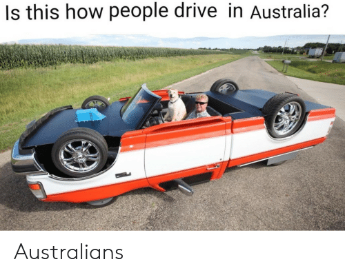 Drive In: Is this how people drive in Australia? Australians