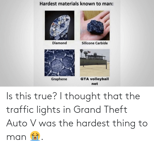 lights: Is this true? I thought that the traffic lights in Grand Theft Auto V was the hardest thing to man 😭.