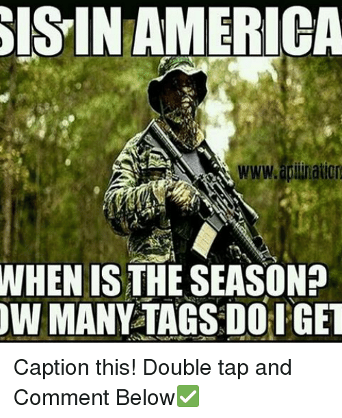 isin: ISIN AMERICA  WHEN IS THE SEASON?  OW MANY TAGSDOH GET Caption this! Double tap and Comment Below✅
