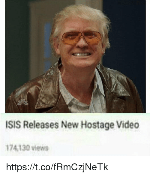 hostage: ISIS Releases New Hostage Video  74.130 views https://t.co/fRmCzjNeTk