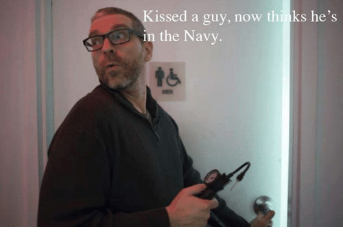 Memes, Navy, and 🤖: issed a guy, now thinks he's  in the Navy.